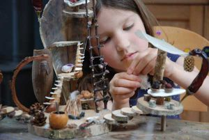 Fairyhouse Making