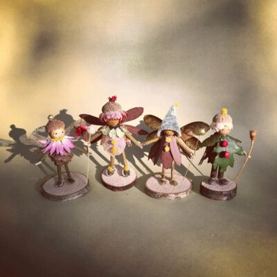 Naturemake model of Woodland Fairies