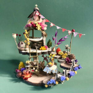 Naturemake model of Woodland fairyhouse