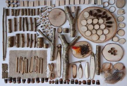 Woodland Materials Box