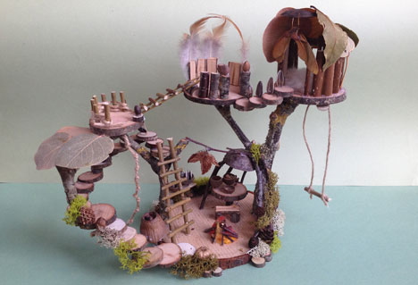 Woodland Treehouse Box Example