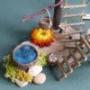 Close up detail of Naturemake Mini Treehouse Kit model