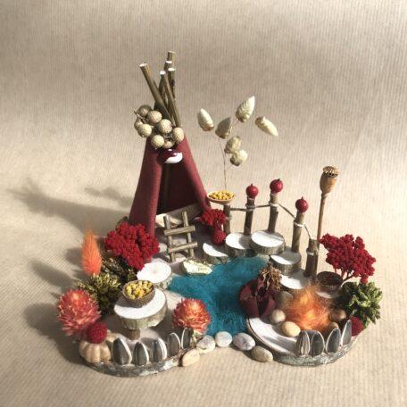 Naturemake model of mini teepee