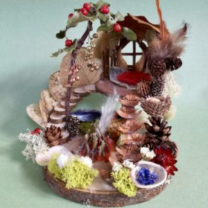 Naturemake Advent Elf House model