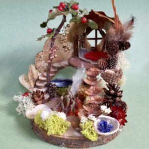 Naturemake Advent Elf House model