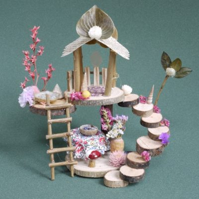 Naturemake model of the Mini Fairy House Kit