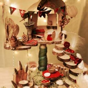 Advent Elf House