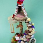 Mini Teepee Fairyhouse