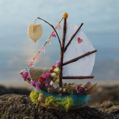 Fairy Boat Materials Box