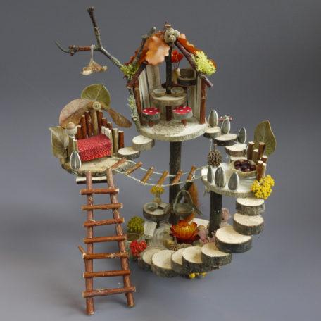 Naturemake model of their Little Woodland Dwelling
