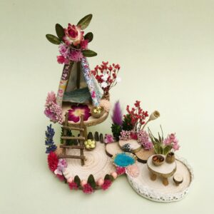Naturemake model of Mini Fairy Teepee