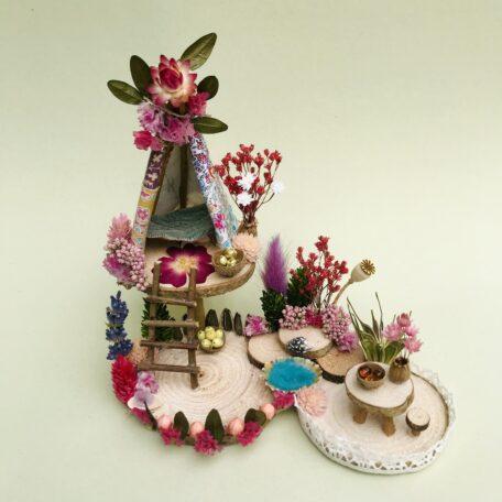 Naturemake model of Mini Fairy Teepee