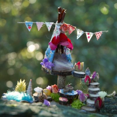 Mini Fairy Teepee