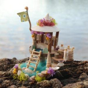 Mini Seashore Fairy House