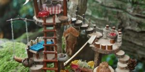 Mini Woodland Dwelling