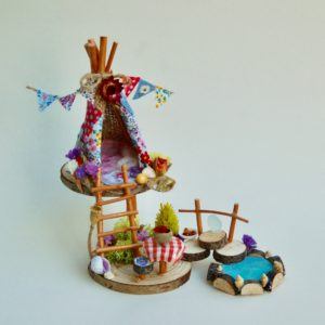 Naturemake Mini Fairy Teepee model