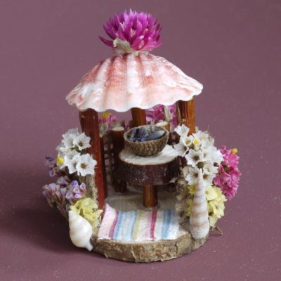 Naturemake model of a Tiny Beach Hut