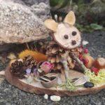 Naturemake workshop model example little fox