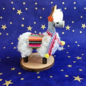 Naturemake model of the Lovely Llama craft kit