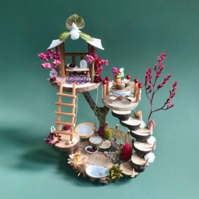 Model of the Naturemake Fairy-tale Dwelling craft kit