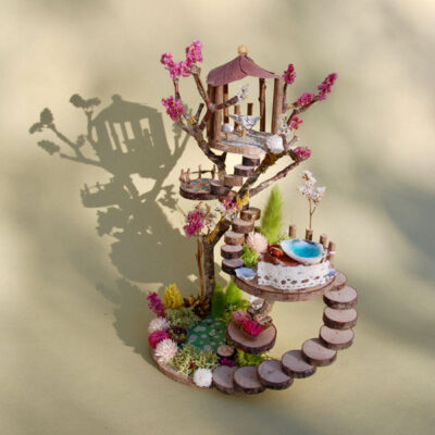 Naturemake model of Fairy Garden House