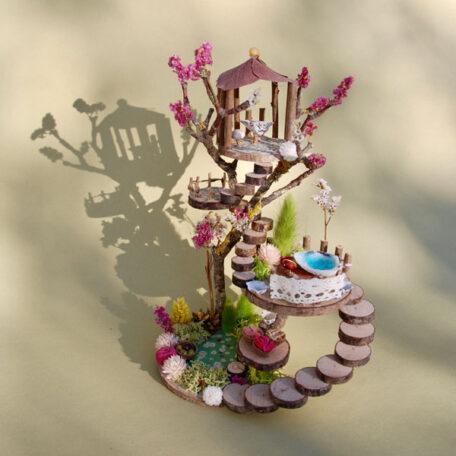 Naturemake model of Fairy Garden House