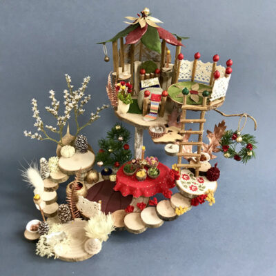 Naturemake model of Christmas Elf House
