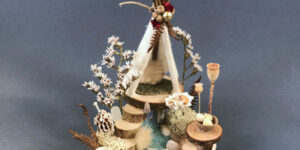 Naturemake model of Little Winter Teepee