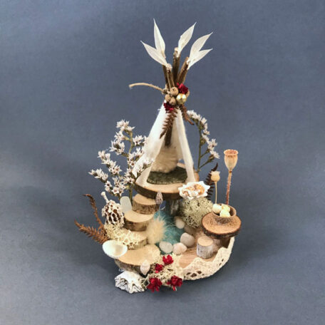 Naturemake model of Little Winter Teepee